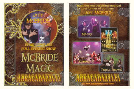 DVD McBride Magic - Abracadazzle