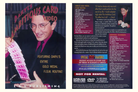 DVD Ambitious Card