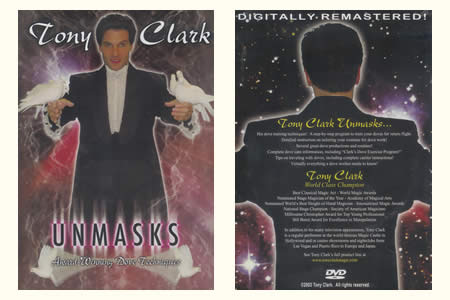 DVD Unmasks (Tony Clark) vol.1