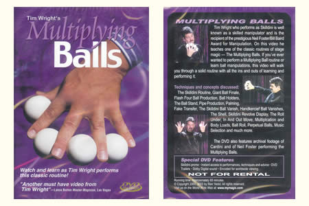 DVD Tim Wright's Multiplying balls