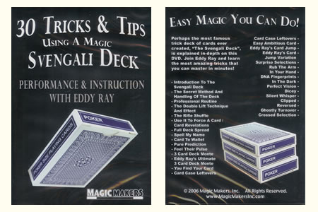 DVD 30 Tricks & tips using a magic Svengali Deck