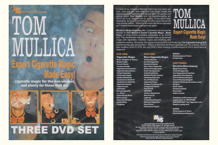 DVD Expert Cigarette Magic Made Easy ! (3 DVDs)