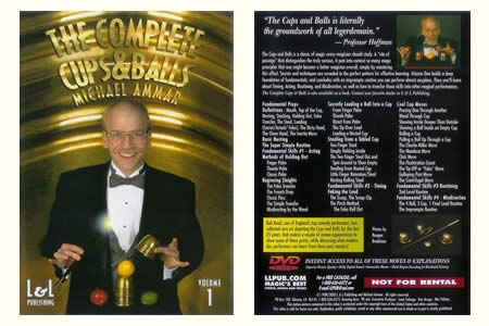 DVD The Complete Cups & Balls (Vol.1)