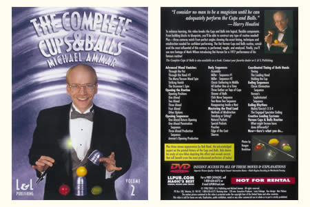 DVD The Complete Cups & Balls vol.2 (M. Ammar)