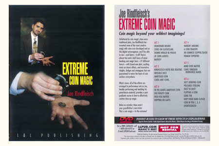 DVD Extreme Coin Magic (J. Rindfleisch)
