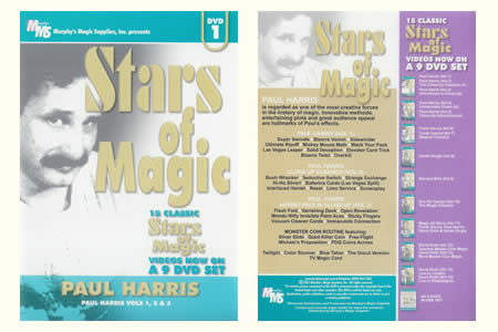 DVD Stars of Magic (Vol.1)