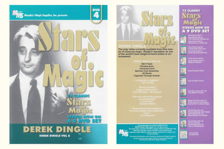 DVD Stars of Magic vol.4 (D. Dingle)