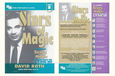 DVD Stars of Magic vol.8 (D. Roth)