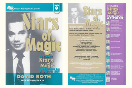 DVD Stars of Magic vol.9 (D. Roth)