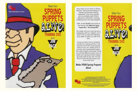 Spring puppets alive !