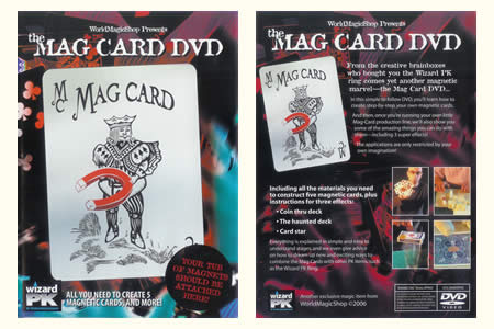 DVD The Mag Card