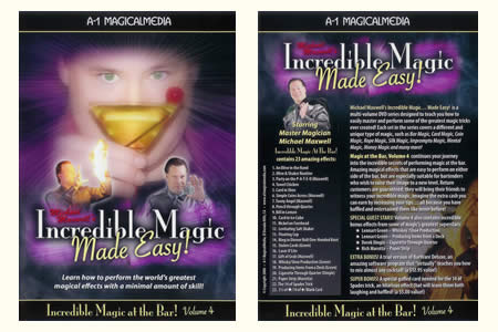 DVD Incredible magic at the bar (Vol.4)