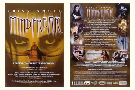DVD Mindfreak