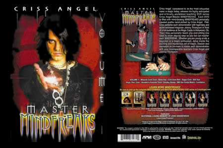 DVD Master Mindfreaks vol.1 (C. Angel)