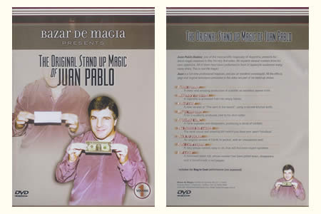 DVD The Original stand up magic (J. Pablo) vol.1