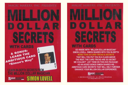 DVD Million Dollar secrets