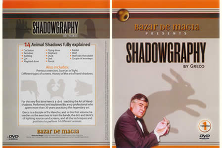 DVD Shadowgraphy vol.1 (Greco)