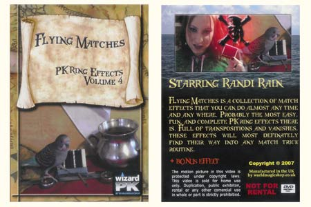 DVD Flying Matches - PK Ring Effect vol.4