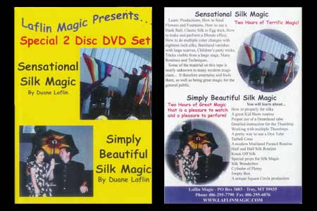 2 DVD Silk Magic