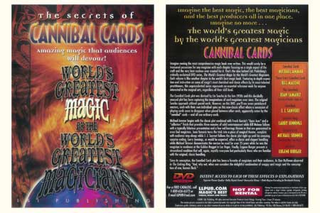 DVD The Secrets of Cannibal Cards