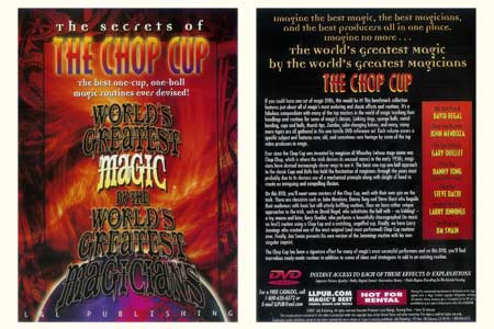 DVD The Secrets Of The Chop Cup