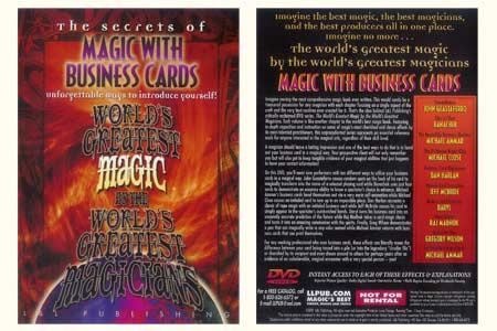 The Secrets of Magic With Business Cards