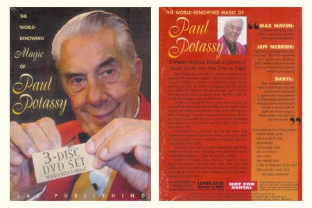 DVD The World Renowned Magic of Paul Potassy