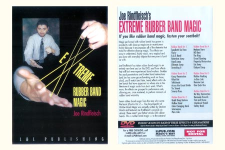 DVD Extreme Rubberband Magic
