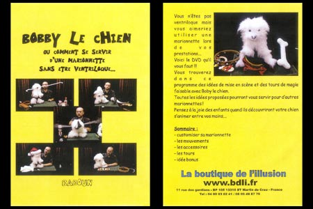 DVD Bobby Le Chien