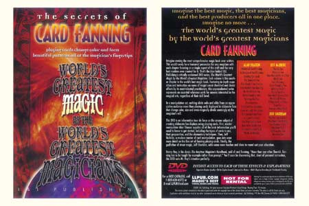 DVD The Secrets of Card Fanning