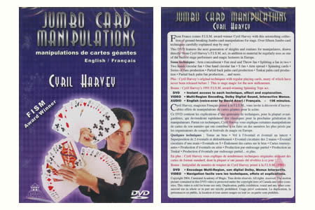 DVD Jumbo Card Manipulation