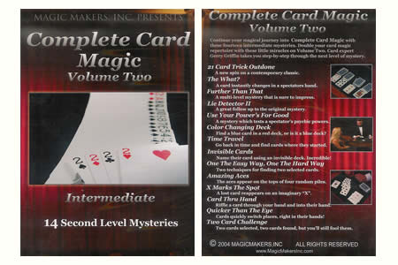 DVD Complete Card Magic Vol.2 (Intermediate)
