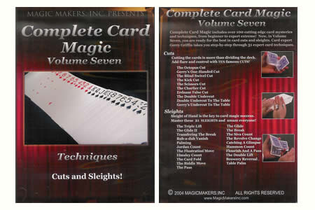 DVD Complete Card Magic Vol.7 (Techniques More)