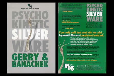 DVD Psychokinetic Silver Ware