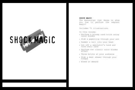 Shock magic (A. Mayne)