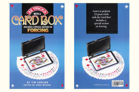 25 Tricks with a Card Box (T. Carlson)