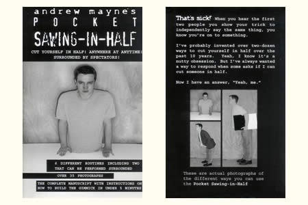 Pocket Sawing-in-half (A. Mayne)