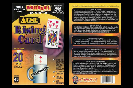 Arne Rising Card Booklet