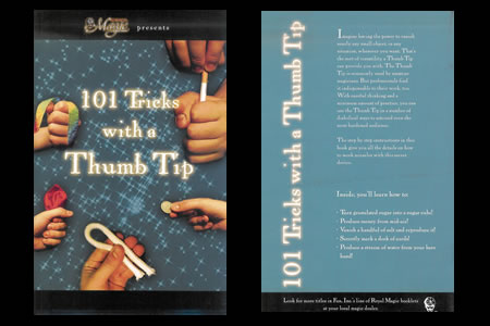 LIBRO 101 Tricks with a Thumb Tip
