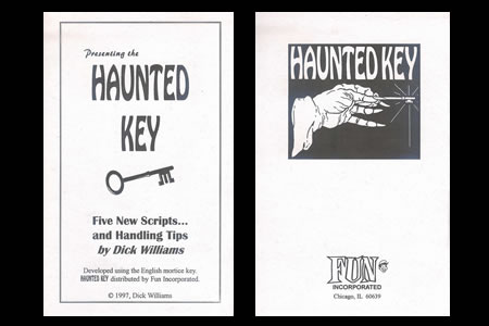 The Haunted Key Booklet