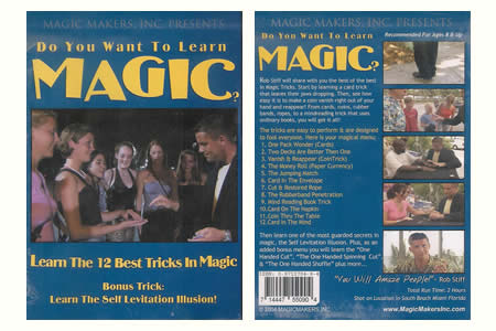 Dvd 'Do you want to learn magic ?'
