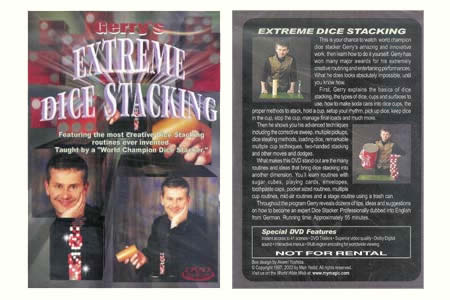 Dvd 'Extreme Dice Stacking'