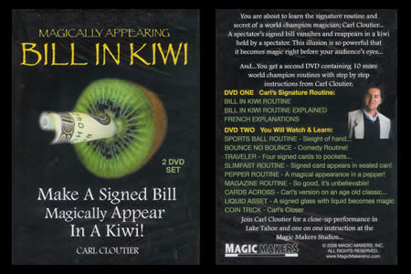 Bill  in Kiwi (2 DVDs set)