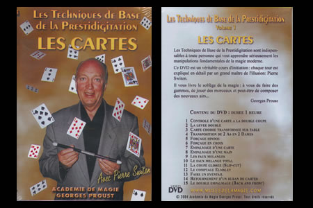 DVD Bases de la prestidigitation : les cartes