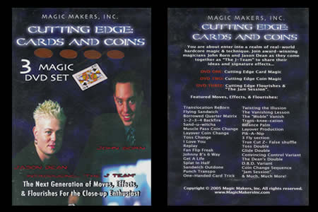 Cutting Edges - Cards and Coins (3 DVDs)