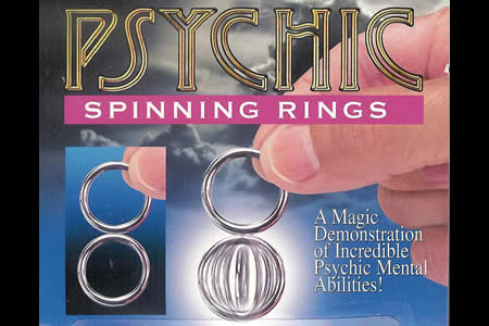 Psychic spinning rings