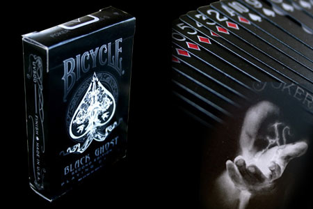 Jeu Bicycle Black Ghost