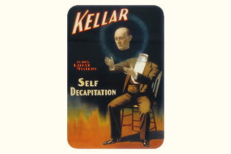 Postal Kellar self decapitation vintage