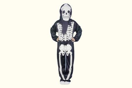 costume de squelette enfant tour de magie. Black Bedroom Furniture Sets. Home Design Ideas