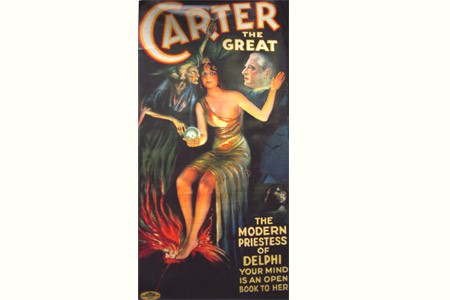 Poster Carter the Great (enrrollado)